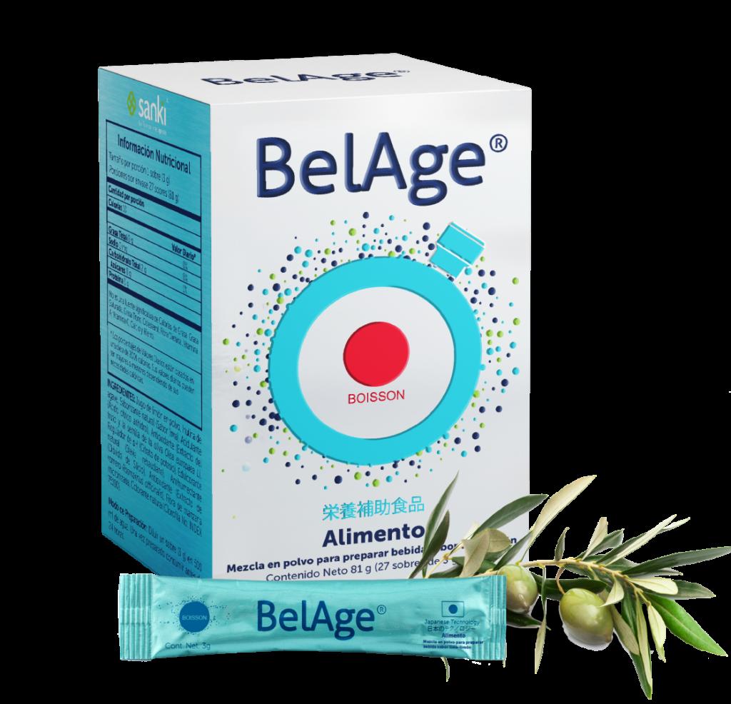 BelAge producto que evita el envejecimiento prematuro